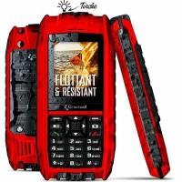 Pack pro mobile SHARK-V2 rouge TECH&ME - CROSSCALL