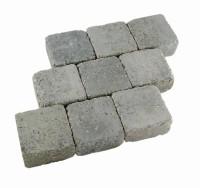 Pavé duo 16x16x6cm gris granit MARLUX