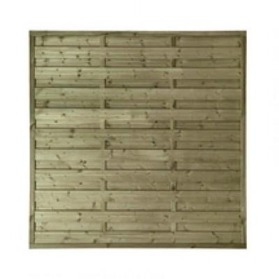 Panneau pin Iago droit naturel cadre de section 35x45mm 180x180cm STELMET