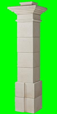 Pilier VALANCAY MONUMENTAL 222.5cm naturel ORSOL