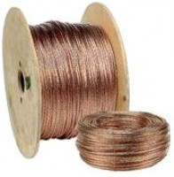 Câblette de terre diamètre 25mm en cuivre nu 25mm2 DAUMESNIL