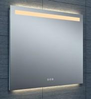 Miroir Tokyo éclairage led avec variateur 90x80cm