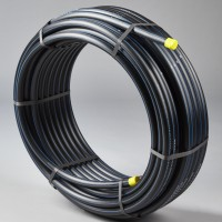 Tuyau PEHD bleu PE 100 pression nominale 16 diamètre 32mm 50m RYB