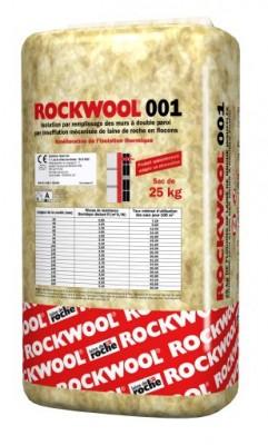 Laine 001 vrac à insuffler sac en 25kg ROCKWOOL FRANCE SAS