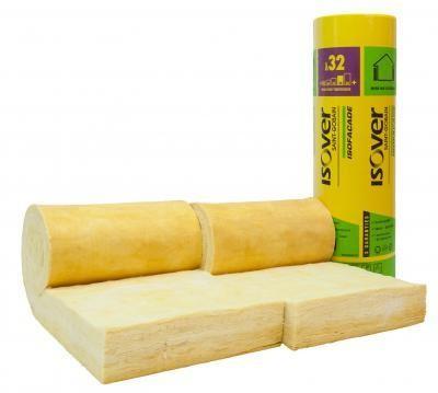Panneau laine de verre isofa ade 32 120mm 370x60cm 2 - Laine de verre resistance thermique ...