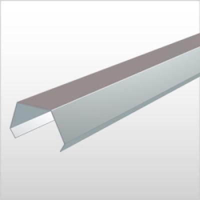 Couvre-joint cuivre tasseau développé 100mm 2ml HILD