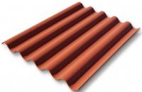 Plaque COLORONDE PO5 rouge latérite 158x92cm ETERNIT INDUSTRIES