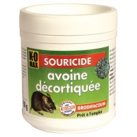 KOMAX raticide souricide 150g XS avoine décortiquée DESAMAIS  DISTRIBUTION