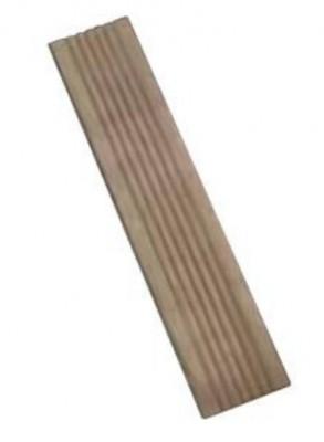Lame NOVALAND TECK 68x15 - épaisseur 3cm - marron ALKERN NOVADAL