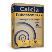 Ciment CALCIA TECHNOCEM CEM II/B-LL 32.5R 35kg CE CP2 NF CIMENTS CALCIA SAS