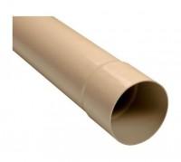 Tube de descente prémanchonné diamètre 100mm - 4.00ml sable NICOLL