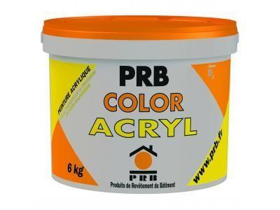 COLOR ACRYL 6kg tous coloris PRB