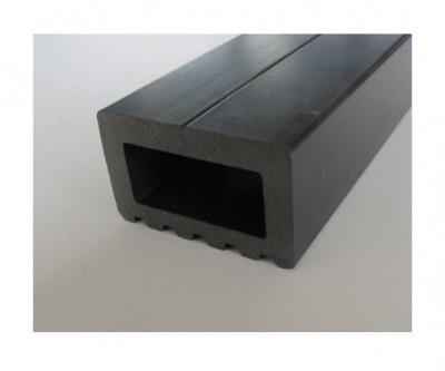 Lambourde Terrasse Composite Noir 30x50mm 2 85m Debarge Bois Les