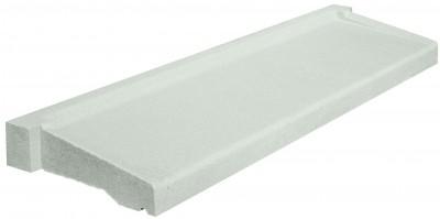 Appui béton parasismique profondeur 35 70x80cm blanc WESER