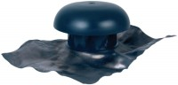 Chapeau ventilation + colelerette AM diamètre 200 ardoise NICOLL
