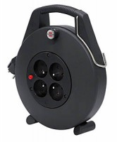Confort Line 10m H05VVF 3G1,0 noir, noir BRENNENSTUHL