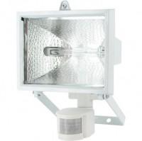 Projecteur halogène blanc avec détecteur  400W BRICODEAL