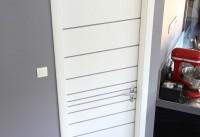 Porte seule ISAD K1.6 faces libres laqué blanc spyro 2040 x8 AVM  MENUISERIES
