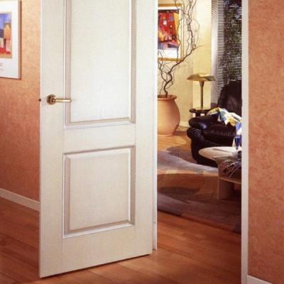 Bloc-porte prépeint ATLANTIS 204x93cm huisserie 68x57mm droite poussant AVM MENUISERIES