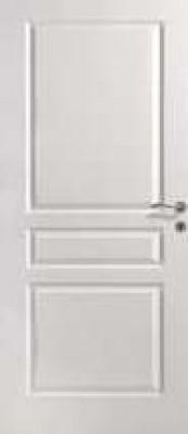 Bloc-porte 93cm huisserie 68x57 prépeint isolant 3 points FONMARTY & FILS