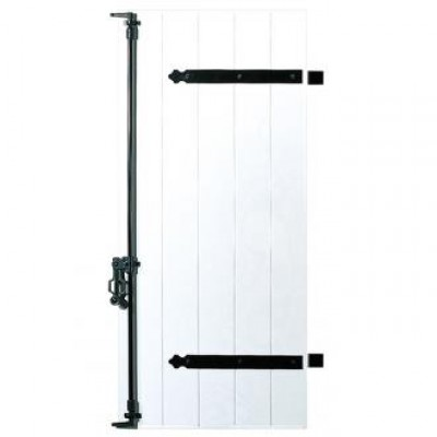 Volet battant PVC à lames verticales clipsés collés 28 mm PEGASE Hauteur 1200mmxLargeur 900mm gamme PÉGASE SOTHOFERM