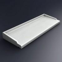 Appui Decostyl 39cm 800 blanc MSEA