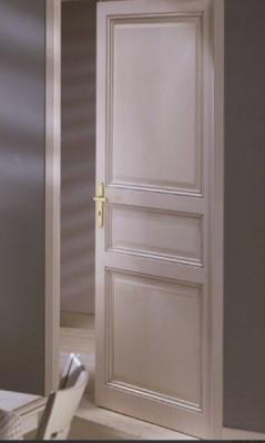 Bloc-porte prépeint THEMIS 204x93cm huisserie 68x57mm gauche poussant AVM MENUISERIES