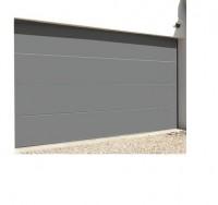 Porte garage sectionnelle 2500x2000cm NOVOFERM