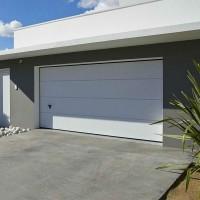 Porte de garage sectionnelle ISO20 hauteur 2000x2375 Nervure NOVOFERM