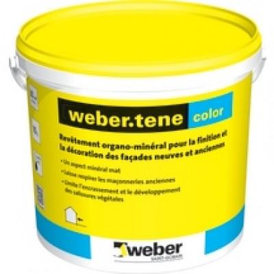 WEBER TENE COLOR 10l tous coloris, revêtement organo-mineral WEBER
