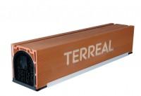 Coffre volet roulant terre cuite 30x30/1,90ml avec sous-face TERREAL