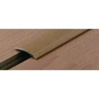 Seuil de porte adhésif plat laiton poli 30x2700mm DINAC GPI