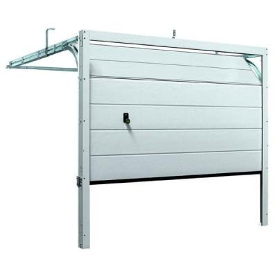Porte de garage sectionnelle prémontée, à rainures M, double 2125x2375mm TUBAUTO
