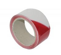 Adhesif amiante 0,050mx100m pour balisage de chantier