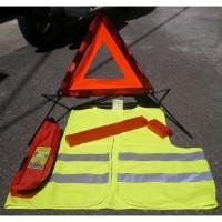 Kit de signalisation (gilet fluo+triangle)