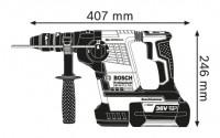 Marteau perforateur sans fil GBH 36V + coffret BOSCH