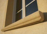 Appui de fenêtre RIVAGE ton pierre 35x98  LIB INDUSTRIES