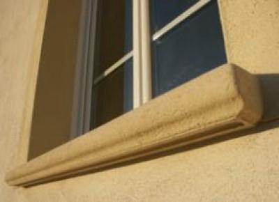 Appui de fenêtre RIVAGE ton pierre 35x108  LIB INDUSTRIES