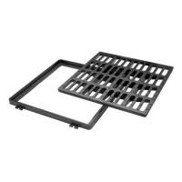 Grille plate carrée C250 700x700mm PONT A MOUSSON