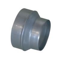 Réduction conique concentrique galva diamètres 630/315mm ALDES