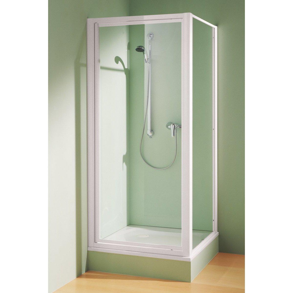 Montage porte de douche maison design for Porte de douche fixe