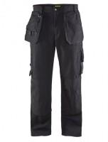 Pantalon artisan noir poche libre coton 225GR T48 BLAKLADER WORKWEAR