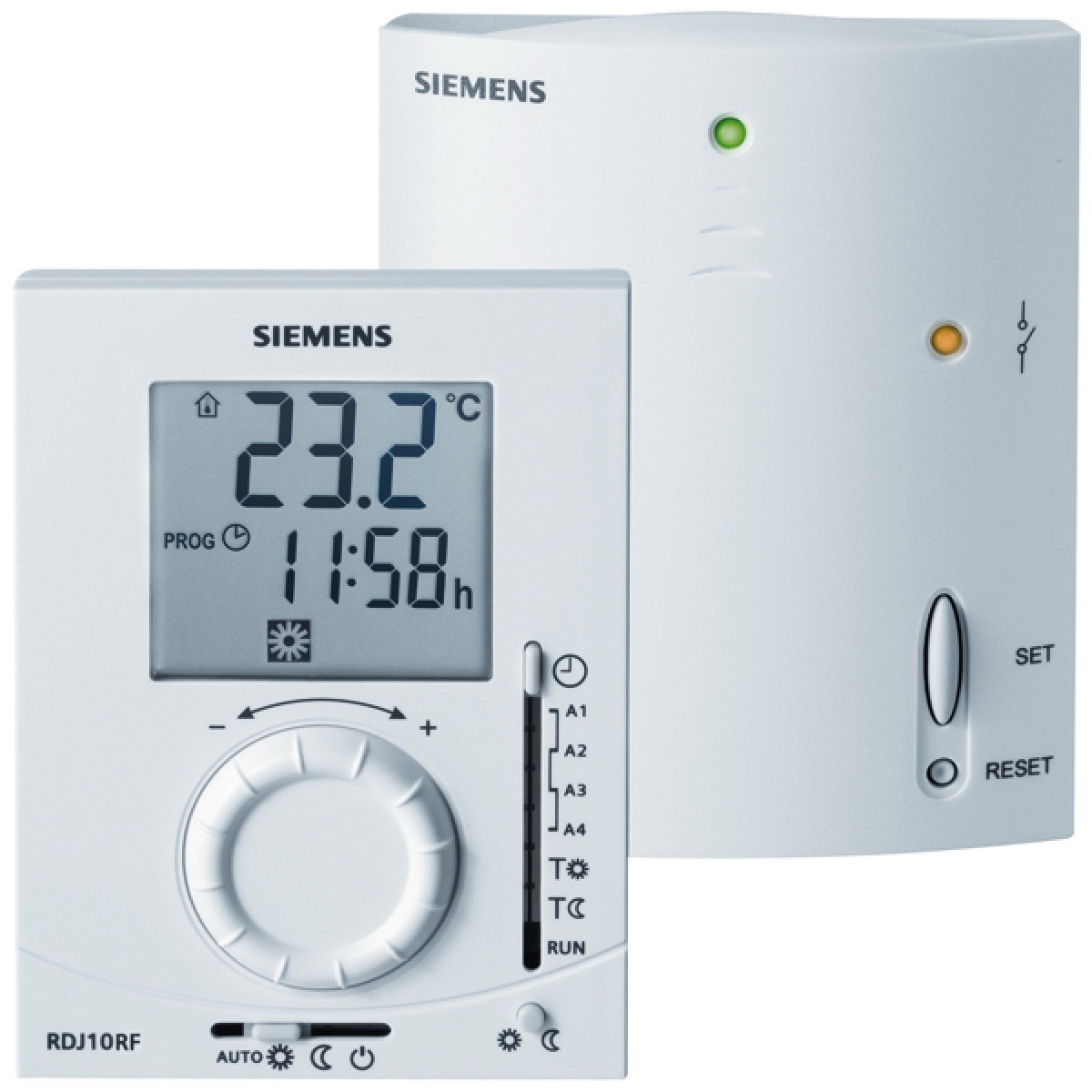 Siemens RDJ10RF Digital Thermostat dambiance