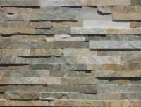Plaquette de parement INDY 15x60cm épaisseur 1-3cm 0.54m2 yellow GONMAR