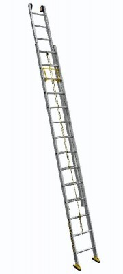 Échelle coulissante à corde 2 plans aluminium de 4,10 à 6,90m CENTAURE
