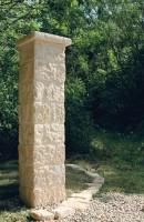 Kit de pilier bridoire complet ton pierre 8 éléments ORSOL