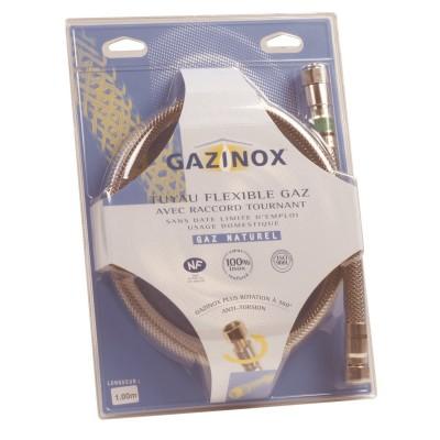 flexible gaz naturel 0 75m gazinox narbonne 11100 d stockage habitat. Black Bedroom Furniture Sets. Home Design Ideas