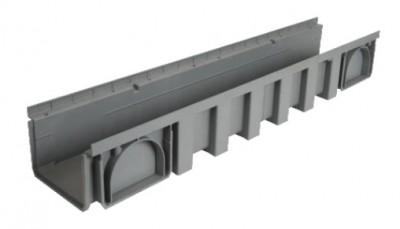 Caniveau 200mm polypropylène 1m NICOLL
