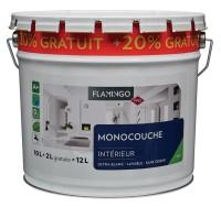 Peinture blanche FLAMINGO sous-couche 12l MEFFERT FRANCE