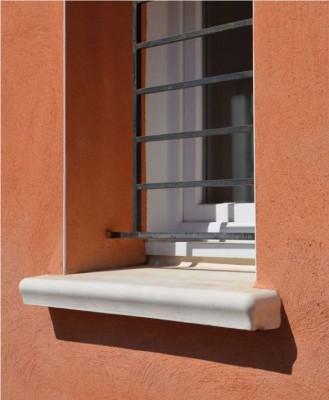 appui de fen tre accordance blanc 34x130cm weser trappes. Black Bedroom Furniture Sets. Home Design Ideas
